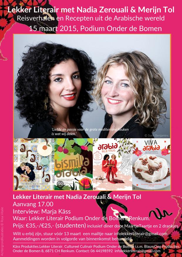 Lekker Literair met Nadia en Merijn