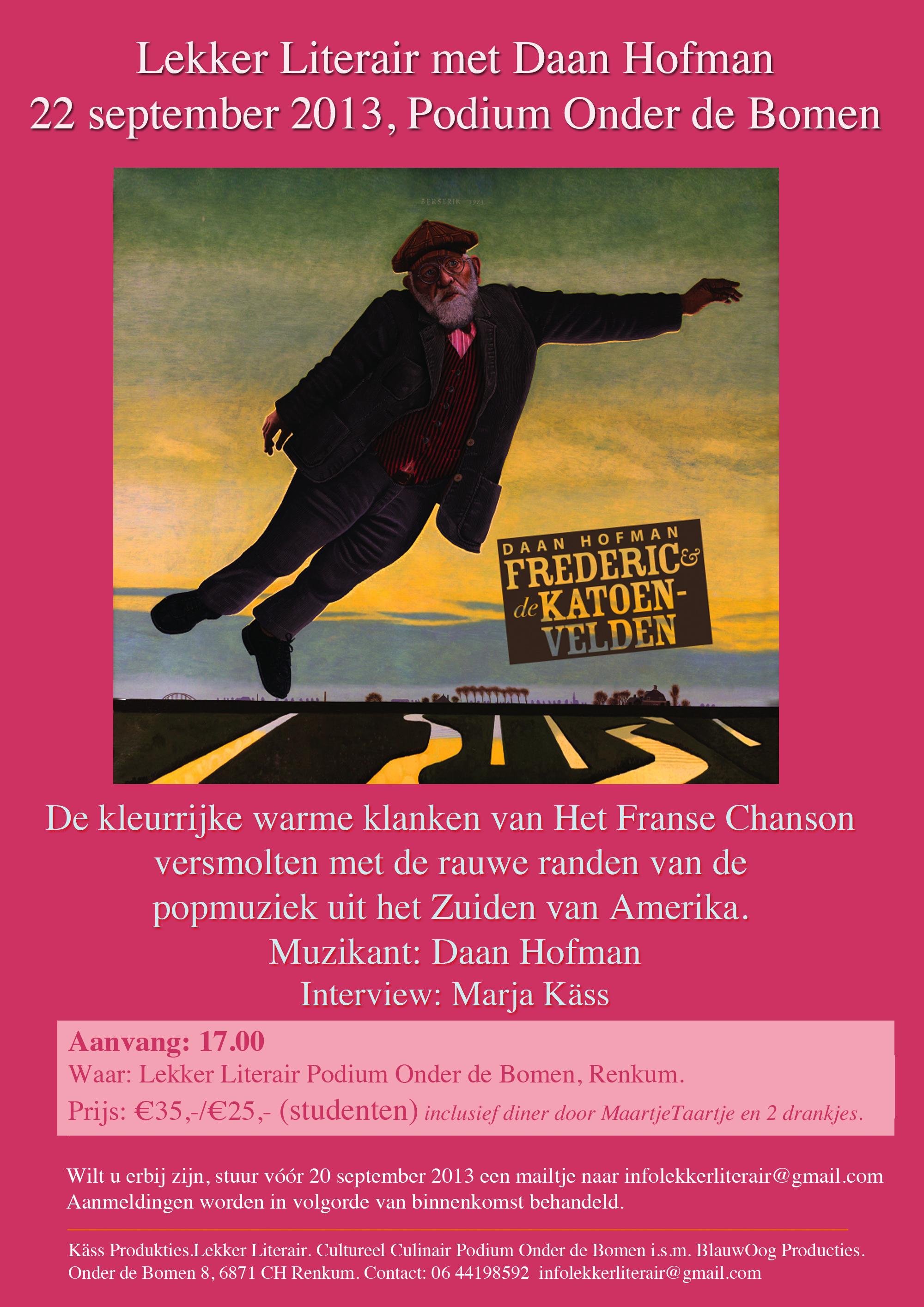 Uitnodiging Lekker Literair met Frederic en de katoenvelden_1