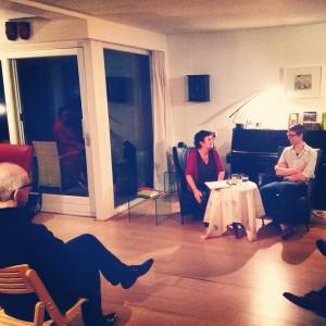 Lekker Literair met Simon van der Geest en Marijke Boon © Maartje Strijbis